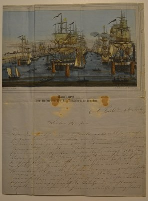 1859 Breve fra P.C. Heuck, Teil 1