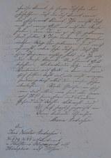 Brief 1864 Andresen Seite 2