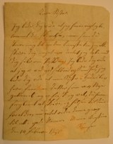 Brev fra Maria Kiestine Sørensen, 1820